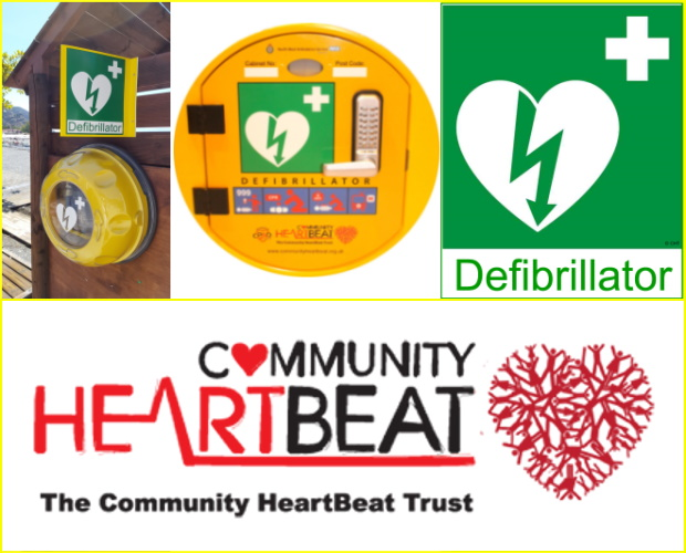 Community Heartbeat Trust study shows poor recognition of some defibrillator signage
