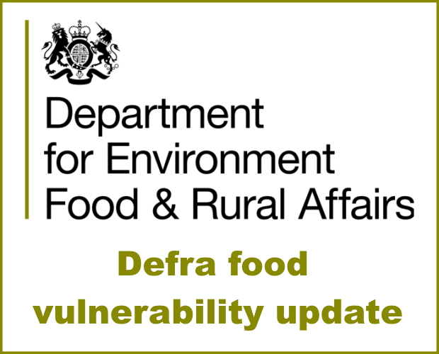 Defra - Food Vulnerability, Local Authority Welfare Assistance Scheme