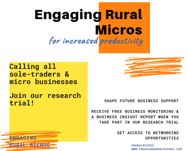 New research project - Engaging Rural Micros
