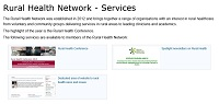 Rural Health Network services