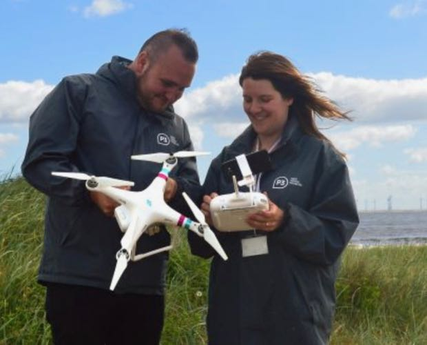 Charity uses drone to locate rural homeless