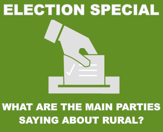 What are the main parties saying about rural?