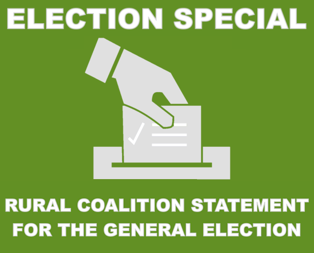 Rural Coalition statement for the General Election