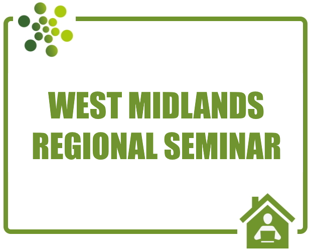 West Midlands Regional Online Seminar and Networking Event - June 2020