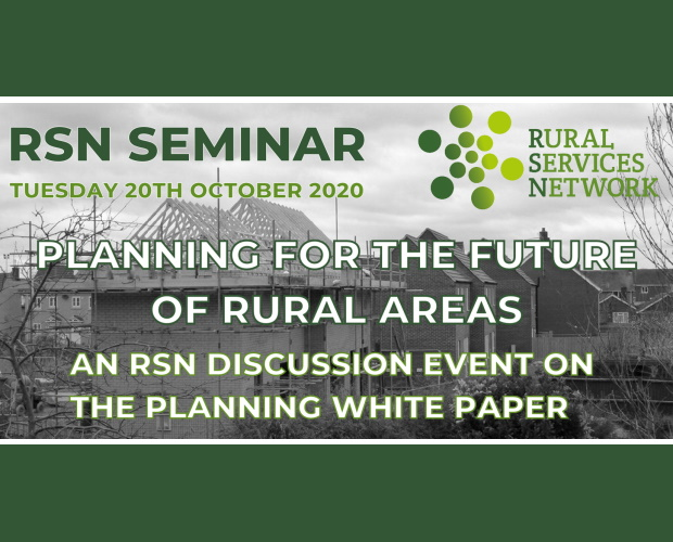 RSN Seminar: Planning for the Future White Paper - October 2020