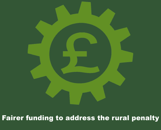 RSN Priority - Fairer funding to address the local rural penalty