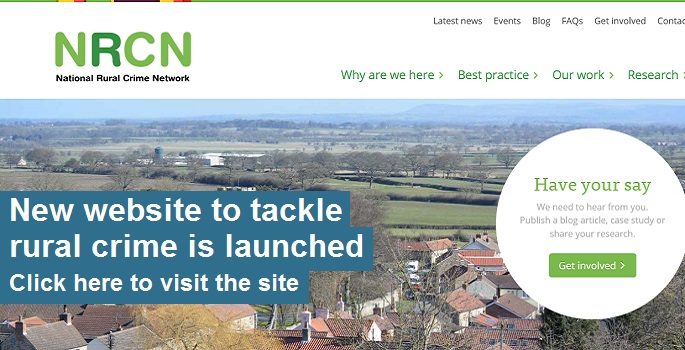 Rural Crime Network Launched