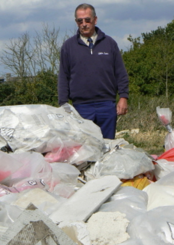 Joining forces against fly-tipping