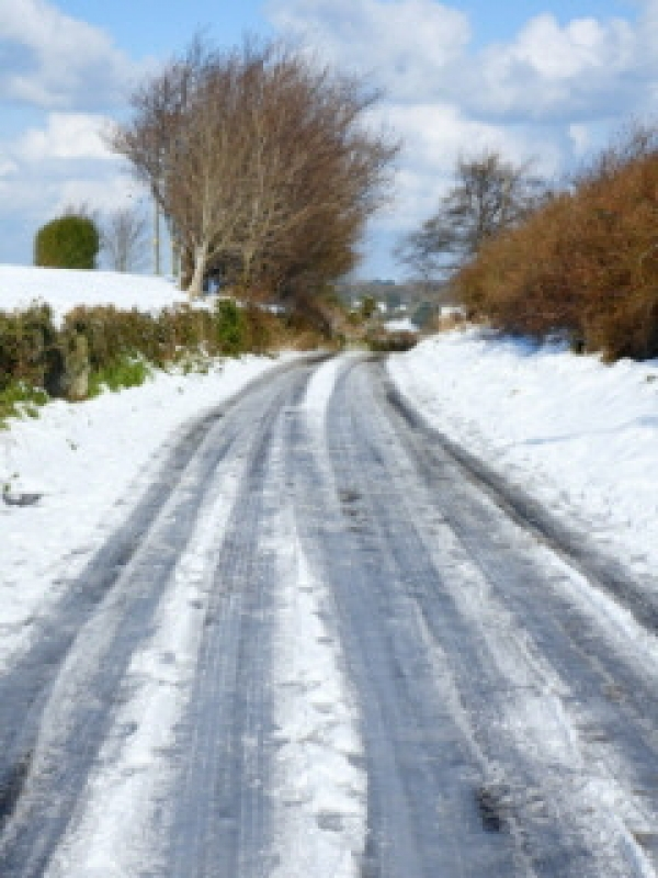 Plan for 'red diesel' to grit rural roads